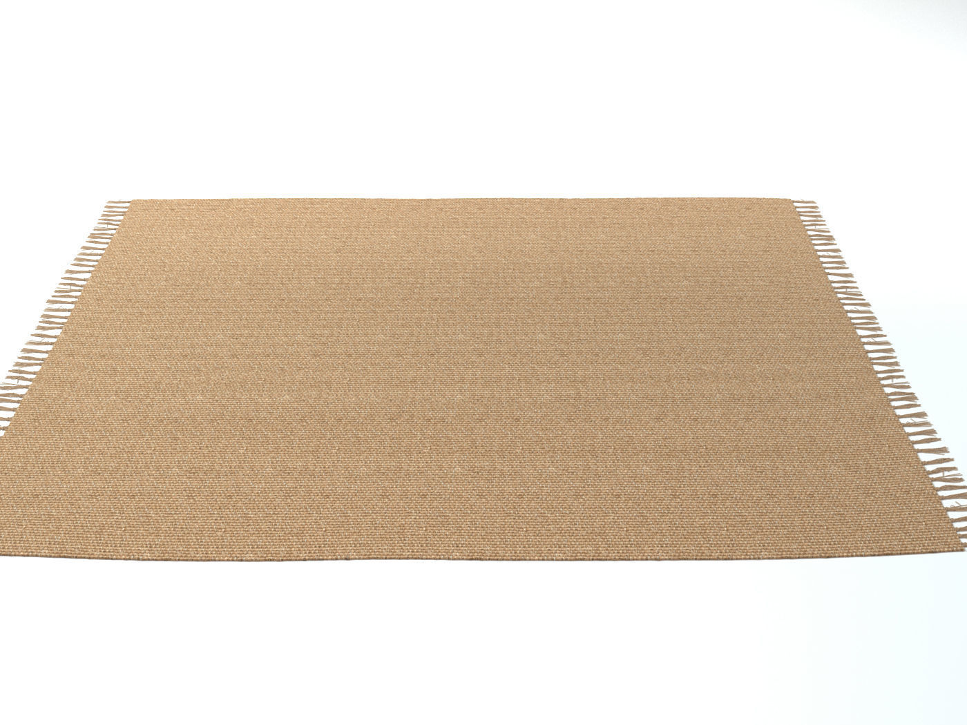 3d Model Carpet Natural Jute Zara Home Cgtrader
