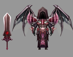 Dark Knight 3D asset