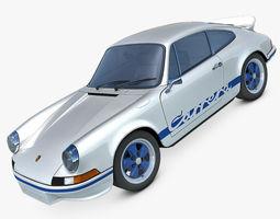 Porsche 911 Carrera RS 1973 3D