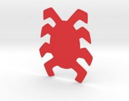 3D print model Spiderman homecoming backspider