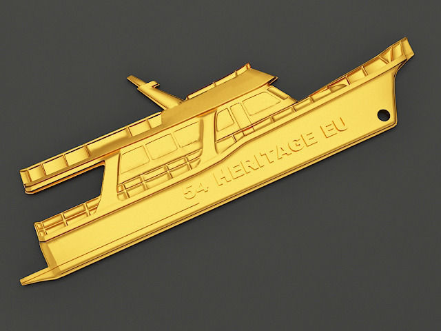 Yacht Key chain 3