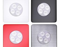 Spot Lamp Collection 3D