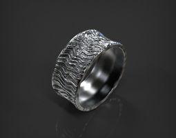 3D printable model Lava Ring size 6 US