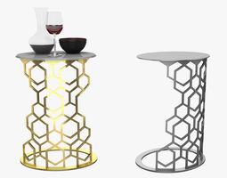3D model Longhi Martin Small Table