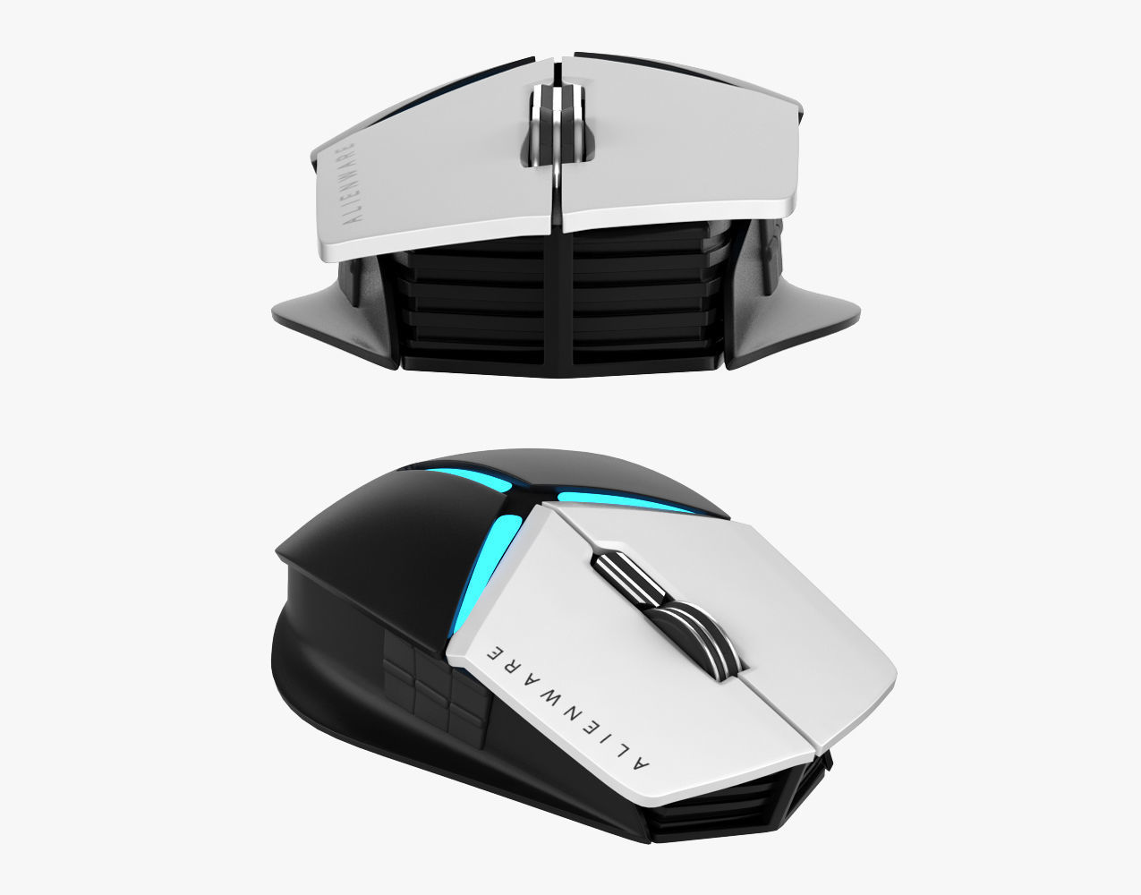 d36402e72f7 Dell Alienware Elite Gaming Mouse AW958 3D | CGTrader