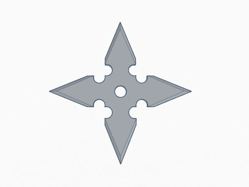 Ninja Star v4 - 4 Point