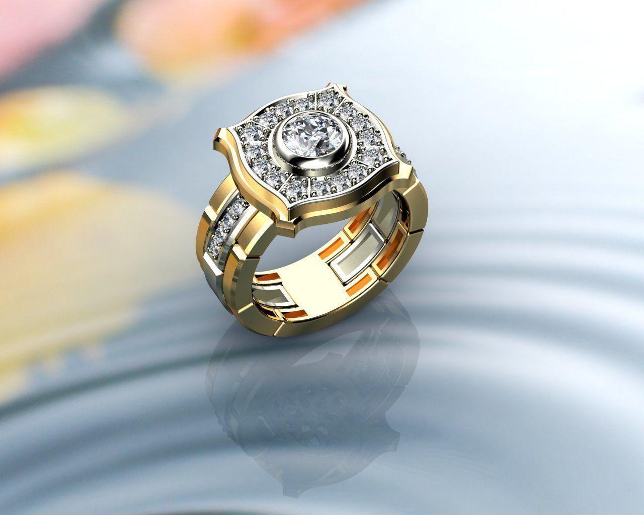Rolex Style Men Ring
