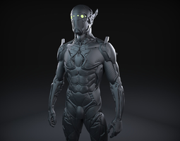 Sci-Fi Character 02 3D