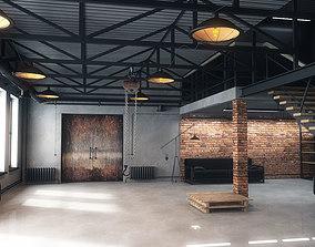 lamp 3D Warehouse loft