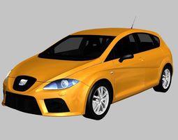 3D asset SEAT Leon Cupra 2007