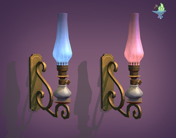 3D model Victorian Sconce
