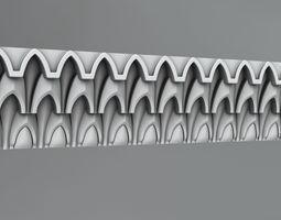 Molding and ornament 14 3D model