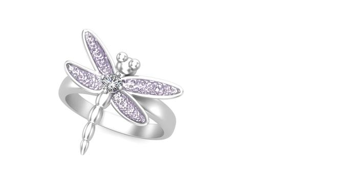 dragonfly design 3d model stl 3dm 1