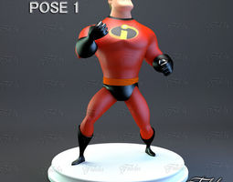 Mr Incredible Printable pose 1