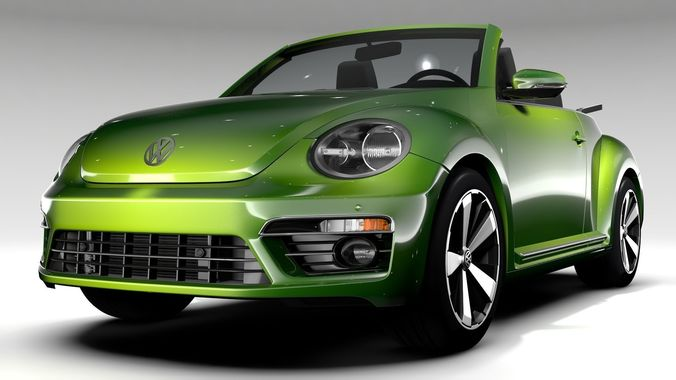 Vw Beetle Convertible Turbo 2018 Model