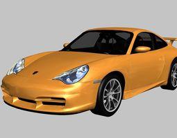 3D asset Porsche 911 GT3 2004