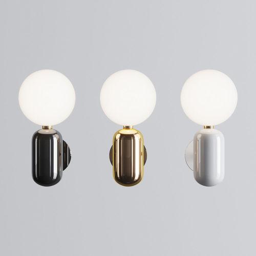parachilna aballs a wall lamp 3d model max obj mtl 3ds fbx 1