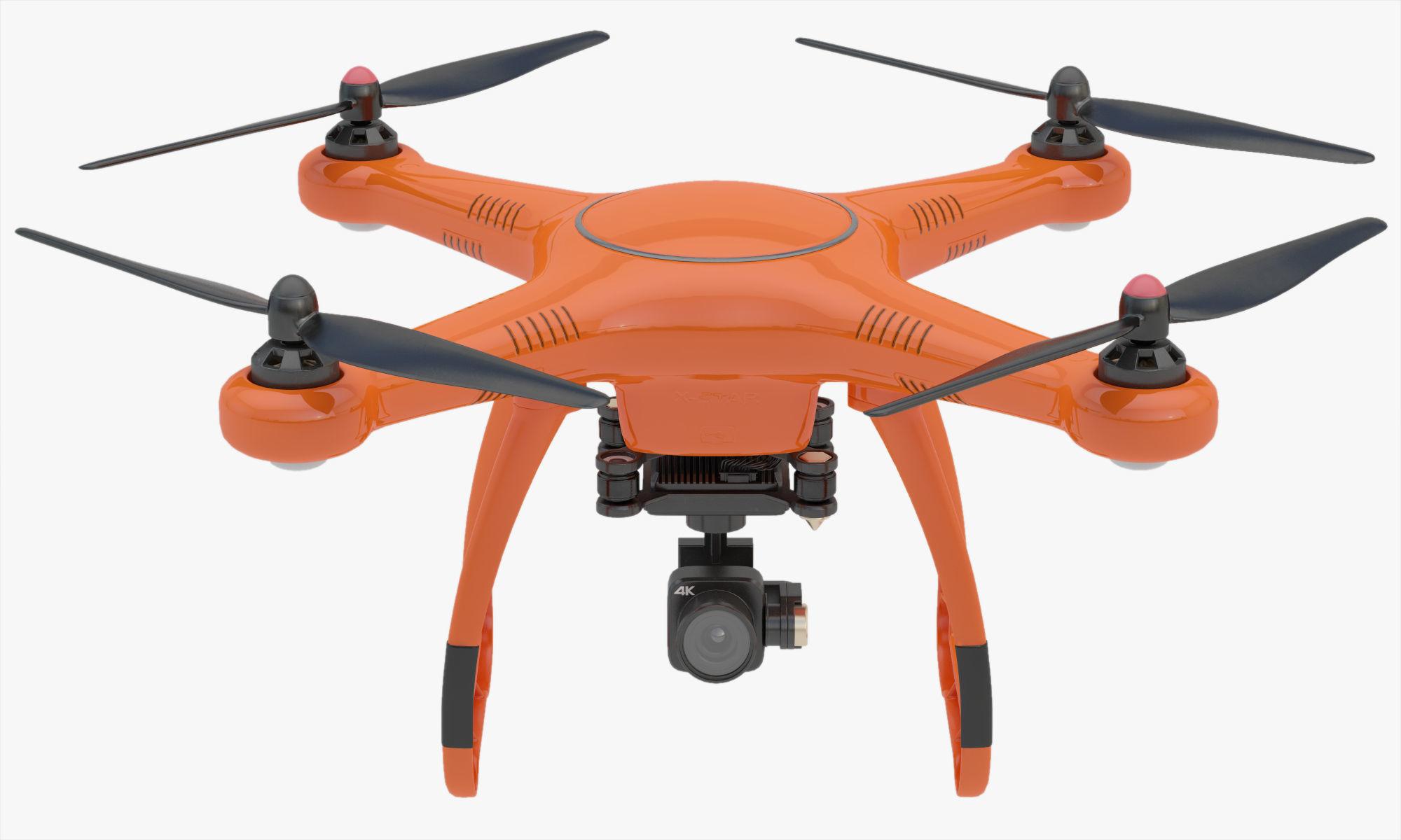 3D Animated Drone Autel Robotics X-Star