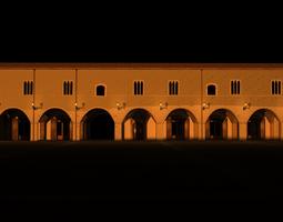 Palazzo Farnese Campli 3D printable model