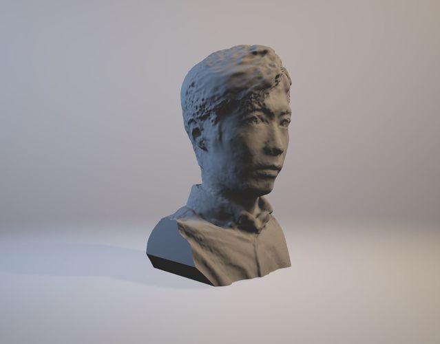 derek sculpture 3d model stl 1