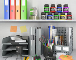 3D office supplies