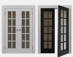doors 3D model double door