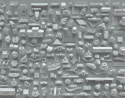3D model Kit bash-223 pieces- part-6