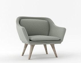 ARMCHAIR furniture armchair 3D