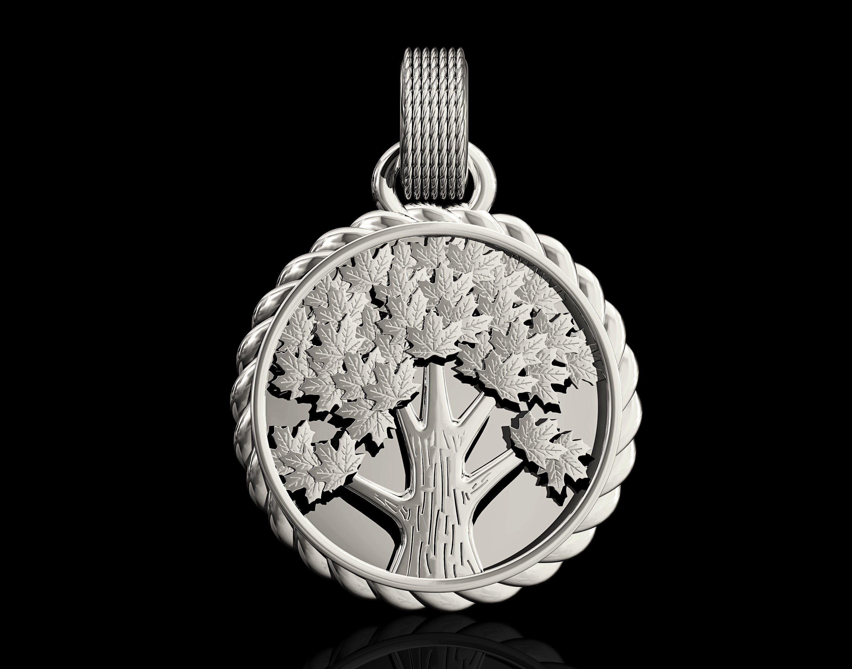 3d printable model tree pendant pendants cgtrader tree pendant 3d model stl 4 aloadofball Gallery