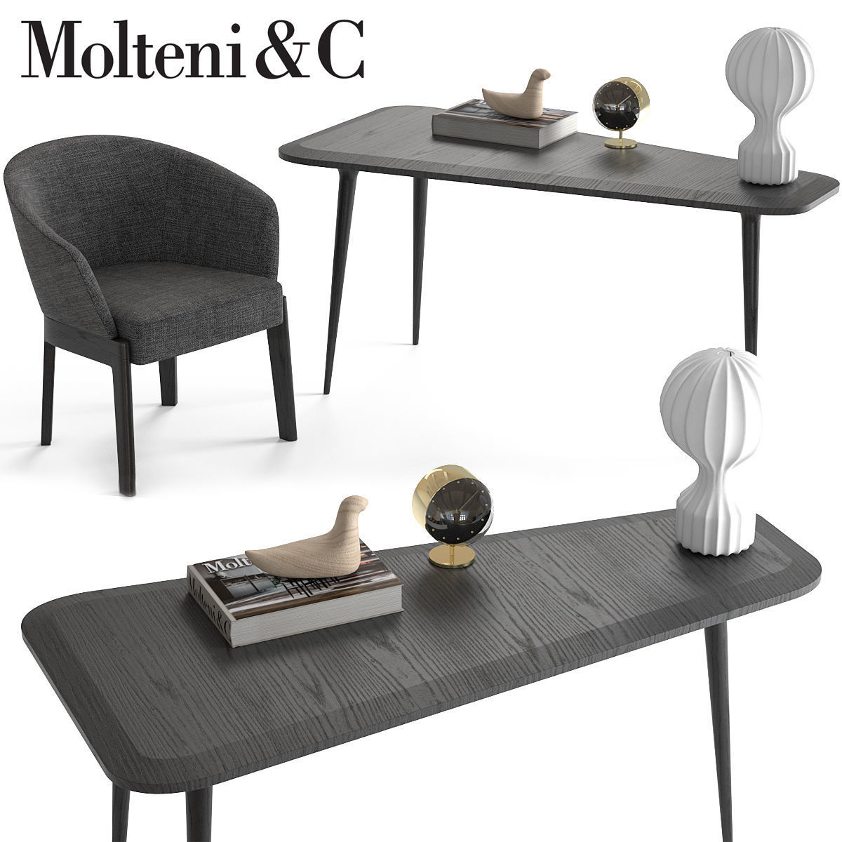 Molteni and c chelsea chair and belsize table 3d molteni and c chelsea chair and belsize table 3d model max obj fbx mtl 1 geotapseo Image collections