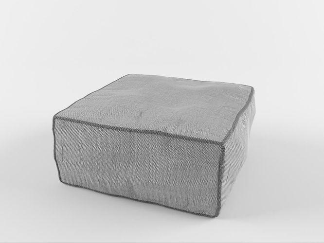 soft chair 02 3d model max obj fbx mtl 1