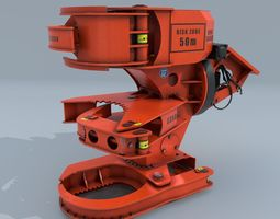Woodcracker 3D asset low-poly