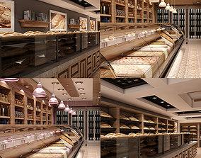 3D Store Interior Set 001
