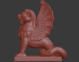 Lion Griffin 3D printable model
