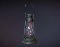 Lantern 3D low-poly