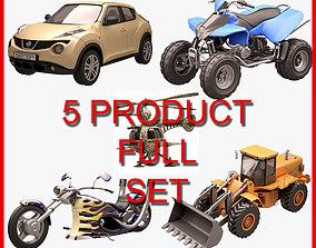 Vehicle Set 3D