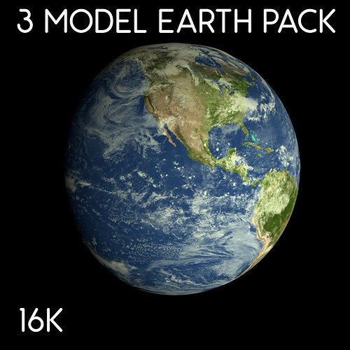 Animated 16k earth pack 3d asset cgtrader animated 16k earth pack 3d model animated obj blend dae 1 publicscrutiny Choice Image