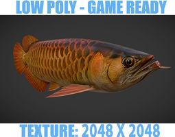 3D model Dragon Fish