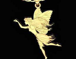 fairy Fairy Pendant 3D print model