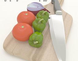 food Vegetables 3D