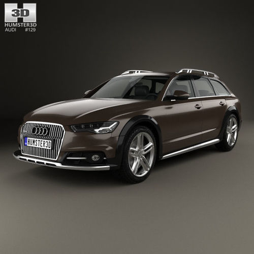 Audi A6 C7 Allroad 2015 C7 3D Model
