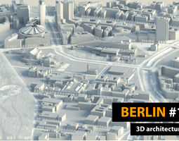 3D model Berlin City