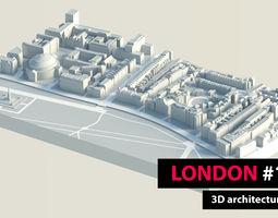 3D asset London City Hyde Park