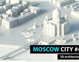 Moscow City Soymonovskiy St 3D model