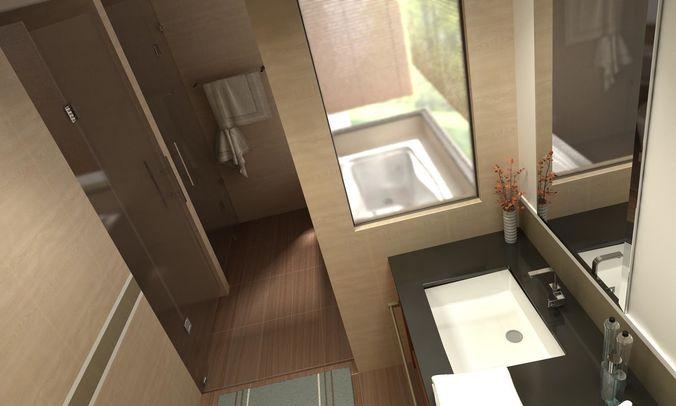 bathroom 06 3d model max obj 3ds fbx Bedroom Kitchen Living Room And Beyond
