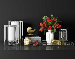 3D decorative set 03