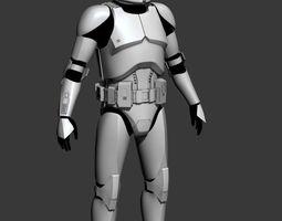 3D print model Clone Trooper Cosplay Armor