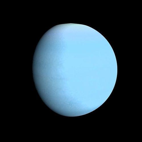 Animated Uranus Model animated | CGTrader