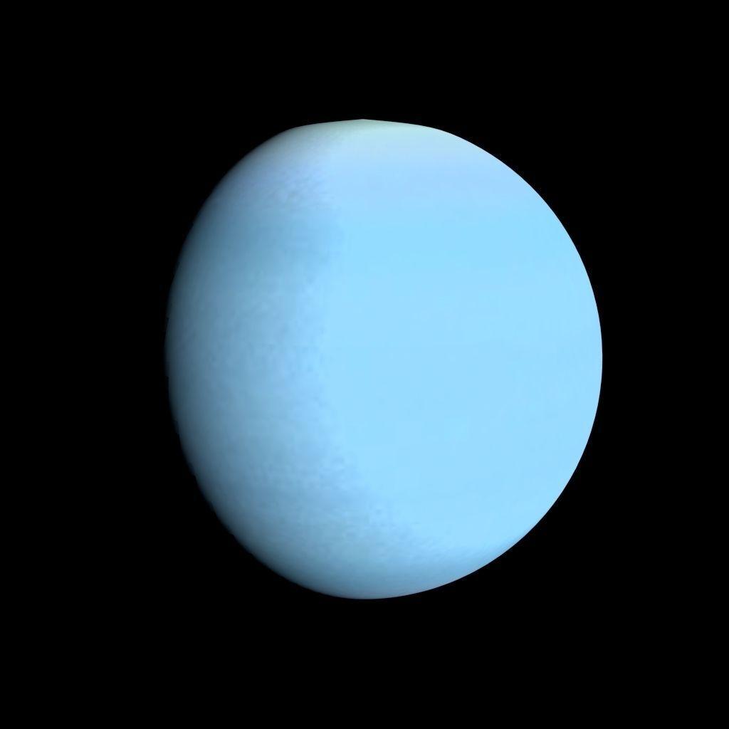 3D model Animated Uranus Model VR / AR / low-poly OBJ ...