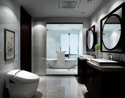 bathroom design complete model 139 3D
